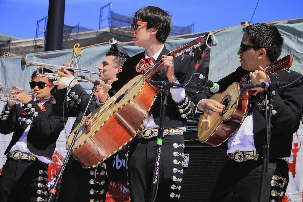 Harvard University's Mariachi band.